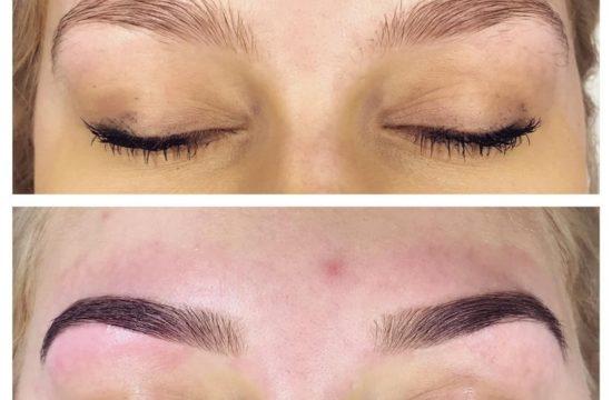 Dagens øyebryn#Bryndesign#eyebrowdesign#Ombrebrows#Nonmakeup#justtint#faceandbrowsstudio#oslo#norway